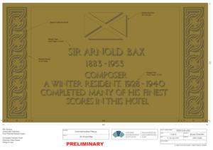 Bax plaque
