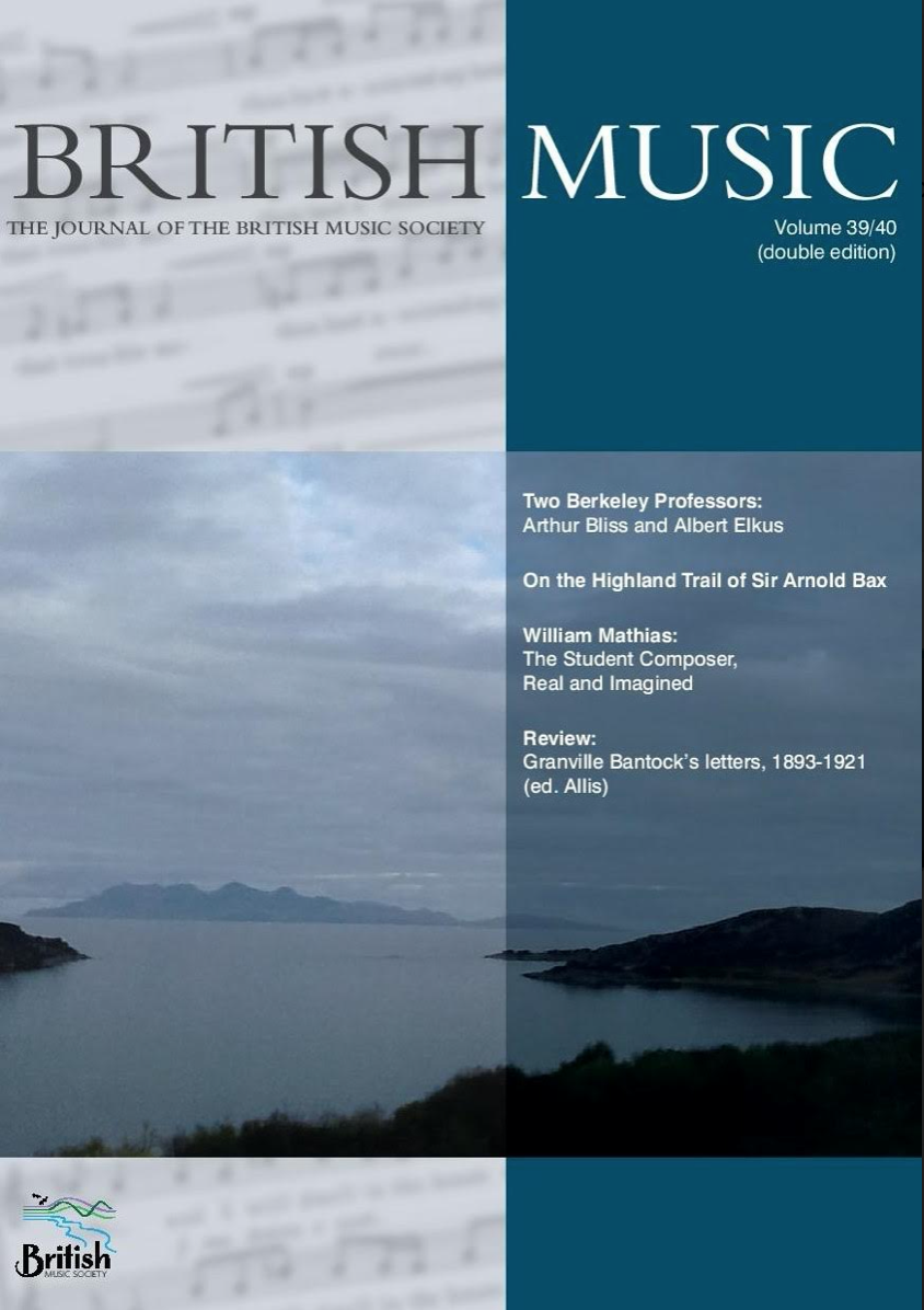 BMS Journal Cover Vol 41, 2019(2)