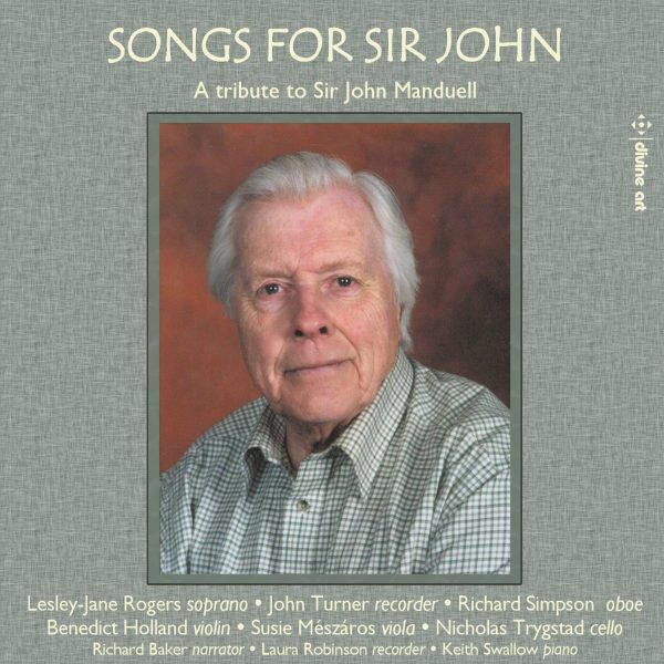 Songs for Sir John: A Tribute to Sir John Manduell