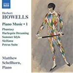 Herbert Howells Piano Music 1