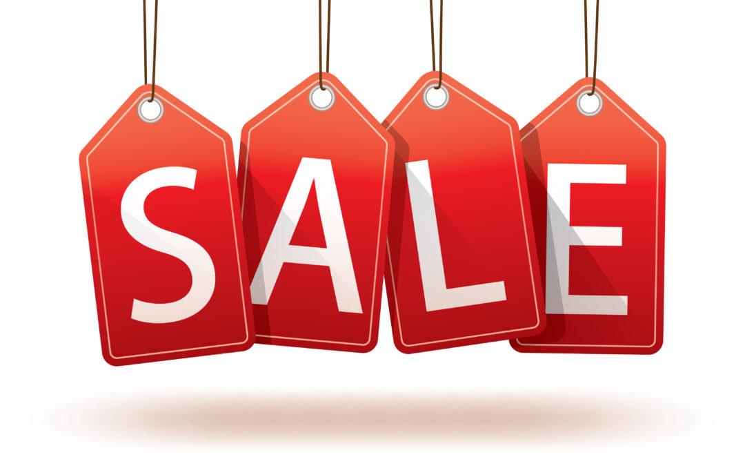 BMS stock take sale