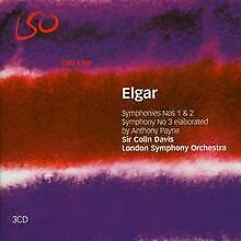 Elgar Symphonies CDs for sale
