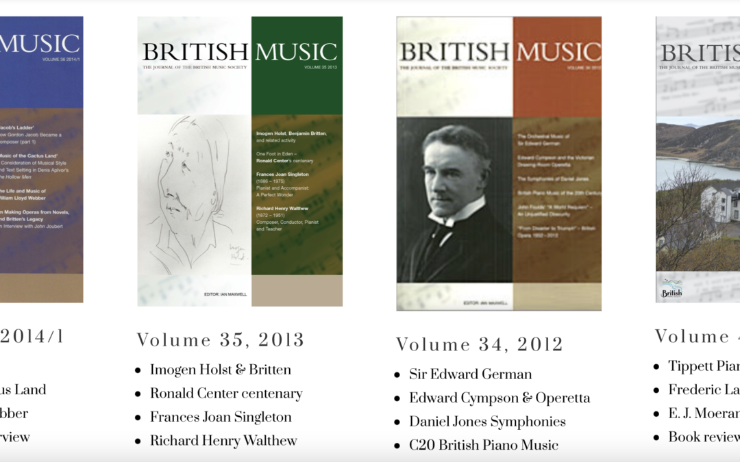 New BMS Journals available online
