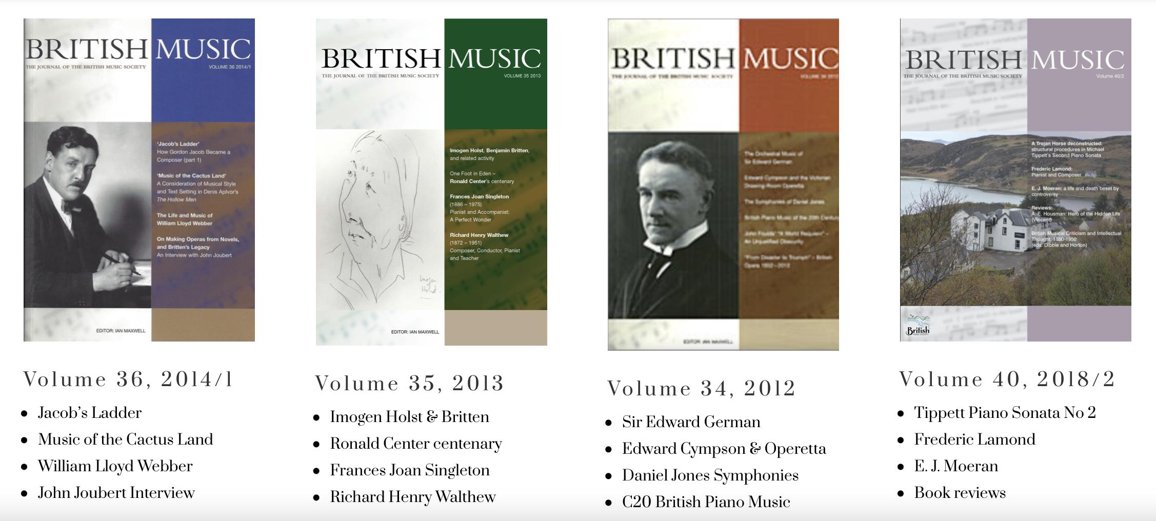 New BMS Journals online