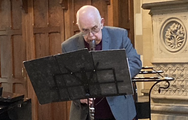 John Turner in rehearsal