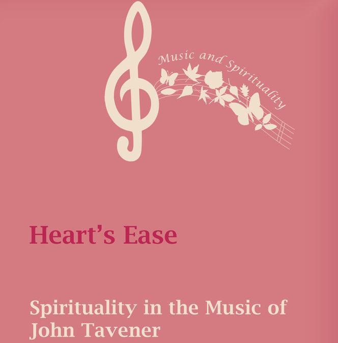 Book explores Tavener's music