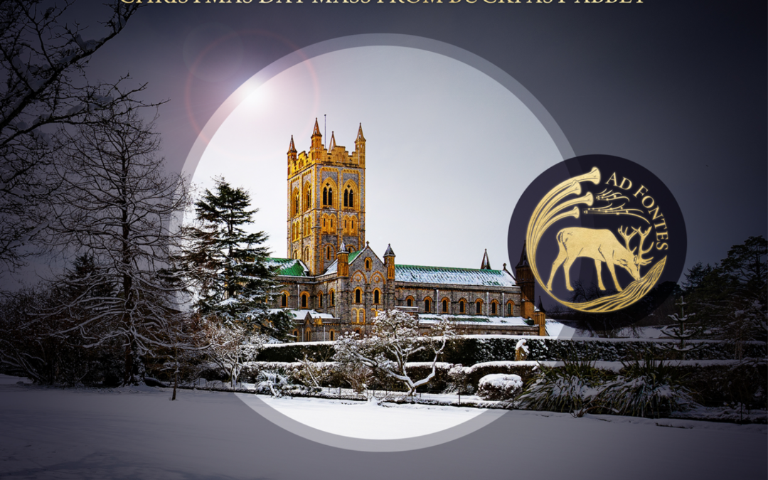 PUER NATUS EST: Christmas Day from Buckfast Abbey